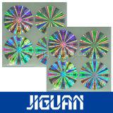 Профессиональный стикер Hologram привлекательного цены конструкции отражательный лоснистый слипчивый изготовленный на заказ