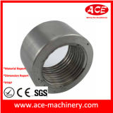 Parte de usinagem CNC de bronze do Flange de T2