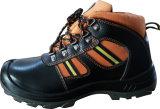 Van de Bescherming van de Industriële van de Koe Gespleten van het Leer Werkende Voeten de van uitstekende kwaliteit Schoenen van de Veiligheid