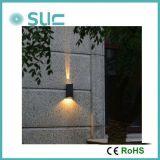 luz al aire libre de la pared del jardín de 3-6W LED