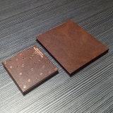 Matt flacher Soem-preiswerter Preis-grauer Papierkosmetik-Kasten mit Spiegel