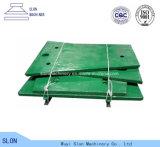 Placa de la quijada de Nordberg Metso C140 Toogle de los recambios de la trituradora de quijada de acero de manganeso
