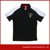 Camisas baratas por atacado do golfe da fábrica para homens para a promoção (P116)