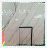 Хонингованный или отполированный белый мрамор для сляба, Countertop и плитки