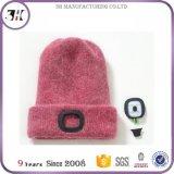 軽い持続の編まれたLEDの帽子の帽子24時間の