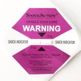 Expédition d'avertissement fragile antivibrationne auto-adhésive d'indicateur de choc