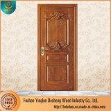 Gravure Desheng Nouveau Style solide porte en bois de conception principal