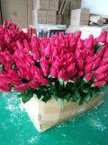 Flores artificiais de Milão Rosa 65cm Gu-D70197