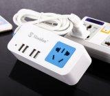 5 sorties 2 ports de chargement USB Multi cablage prise prise alimentation Adaptateur chargeur mural USB