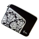 Schöner Neopren-Laptop-Beutel mit vorderer Reißverschluss-Tasche