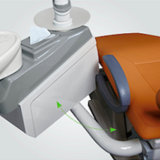 Aufgebaut im Fußboden-Kasten-Qualitäts-China-Qualitäts-zahnmedizinischen Gerät