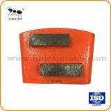 Трапецеидальный HTC Diamond пластина для шлифования бетона с двумя сегментами