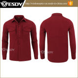 Orange Warmful Esdy tactique Fleece Softshell Hommes Chemises