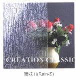 vetro modellato della Pioggia-b di 4mm per 1830mm*2140mm
