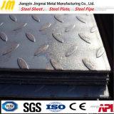 Buon prezzo per il piatto delicato laminato a caldo del acciaio al carbonio/lamiera di acciaio Checkered A36/Ss400/St37/Q235/S235jr