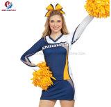 Танцулька девушки школы подгоняла взрослого платья Cheerleading сублимации краски чирлидера печатание равномерного сексуального