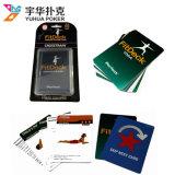 Cartes de jeu faites sur commande d'exercice de cartes de sports avec l'empaquetage d'ampoule