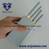 De Mano de alta potencia -portátil de antenas omnidireccionales celular Jammer
