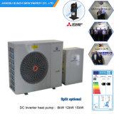 -25c froid hiver Chambre 100~350Chauffage Salle de mètre carrés 12kw/19kw/35kw Pompe à chaleur Auto-Defrost Evi Split Système d'accueil