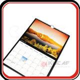 12 hojas tamaño A2 2018 Servicio de impresión de calendarios