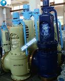 De horizontale Afblaasklep van de Veiligheid van de Druk Psv van de Installatie Proef In werking gestelde Van een flens voorzien