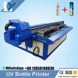 Impresión automática de las botellas del precio al por mayor/impresora plana ULTRAVIOLETA de cerámica de la botella de la botella de la máquina rotatoria de Printin/de la botella del cristal de botellas de vino para los productos del cilindro