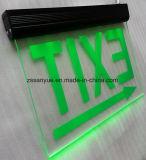 비상등은 두 배 헤드 LED 비상구 빛을 비 유지한다