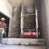 Macchinario di costruzione di Tupo che intonaca l'esportazione della macchina della rappresentazione in Russia