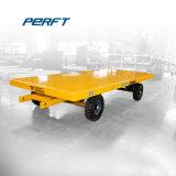 Gran capacidad de carga de la plataforma de acero carretilla industrial