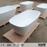 Pierre de SGS/CE de la qualité de l'acrylique Surface solide baignoire