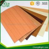Armadi da cucina di legno del laminato del grano/alberino che forma gli strati