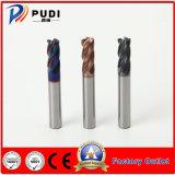O carboneto de sólidos 4 flautas SUS-HRC60 o raio do canto Gear fresa