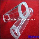 Tubo di vetro del quarzo del filetto di vite di elevata purezza per il riscaldatore