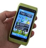 Telefono astuto poco costoso originale N8 del telefono delle cellule di GSM del telefono mobile di marca