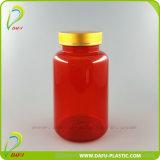 [400مل] محبوب أحمر بلاستيكيّة الطبّ كبسولة زجاجة