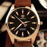 Heiße Mann-Armbanduhr-Luxuxwasserdichtes des Verkaufs-H369 mit leuchtender Zeiger-Uhr für Männer