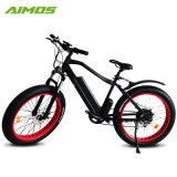 36V 500W bici eléctrica del neumático gordo de 26 pulgadas con la luz del LED