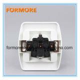 Socket de pared eléctrico de 2 Pin/socket de la corriente eléctrica de Schuko