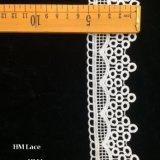 8cmの白い花アイレットは衣服のスカートエクステンダー結婚式のホーム装飾DIYのクラフトの供給Hmhb1233のためのレースのトリムファブリックを刺繍した