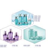 クリームのための空の顔のクリーム色の装飾的なガラス瓶を包む30G贅沢