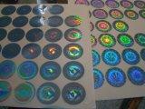 Kundenspezifisches Hologramm-Aufkleber-Kennsatz-Drucken