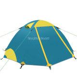 Vente en gros 4 tentes campantes de saison, tente en aluminium de Rod de Double couche