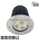3X3w DC24V LED Toilets Underwater Light for Swimming Pool