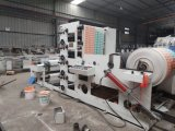 Máquina de impresión flexográfica bolsa de papel recubierto de PE /Cup 800