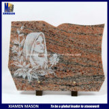 De Plaque van de Douane van het graniet met de Gravure van de Lijn van het Gezicht van de Schoonheid