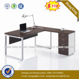 Wooden Melamine Office Furniture L-Shape Office Desk (HX-NT3287)