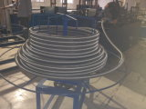 Gewölbtes ringförmige Edelstahl-Gefäß, das Maschine für Dn8-Dn50 bildet