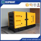 80квт 100 ква бесшумный дизельный электрический генератор