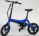 [سس]/إقليم عاملة حارّ نموذج [إ] درّاجة [فولدبل] مع 16 بوصات يوسع إطار العجلة