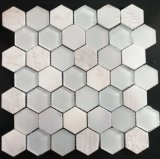 Hexagon Mozaïek van het Glas voor Muur en Vloer